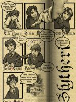 Hogwarts Yearbook, 1973 by tina-lynn