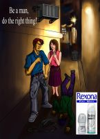 Rexona For Men by KinKiat