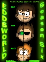 Eddsworld Season 6 DVD Cover by CosmicChrissy