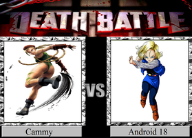 Cammy vs. Android 18 by JasonPictures