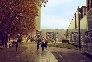 Bilbao autumn by dulce-de-leche-cream