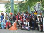 A-kon yugioh group shoot by luaradawn