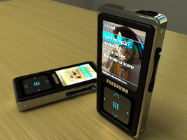 Fakesung MP3 Player by leahzero