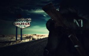 Fallout Welcome to Las Vegas by 32Rabbit