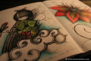 ...my sketch book by NandaCorrea