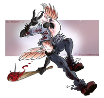 CDC2016 October 1 ~ The Jerkatoo by Mindless-Corporation
