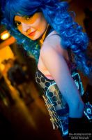 Fenix in LED acrylic corset by theARTofCARNAGE