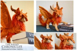The Naiad Chronicles - Phoenix plush by dot-DOLL