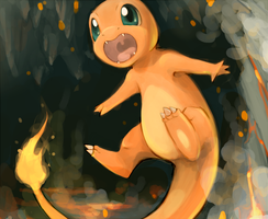 CHARMANDER by AristocraticSocrates