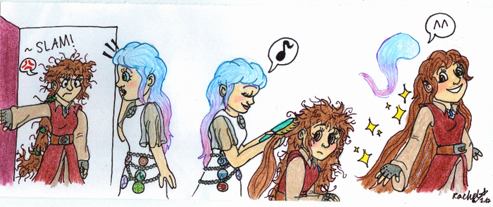 One Little Spark- Bad Hair Day by WishExpedition23