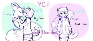 Pokemon YCH auction round four! (ENDED) 2 slots