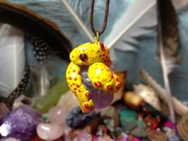 Snake Gem Pendant by SonsationalCreations