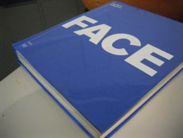 The book named FACE -Facebook- by TetsuSN