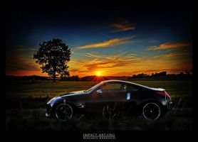 Nissan 350Z sunset - V2 by crawler
