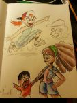 Disney Parks Sketches Part 2 by miitoons