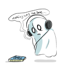 Napstablook by Beezii11