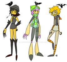 Scarecrow adoptables :closed: by UnknownSpy