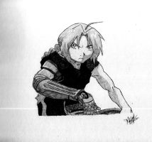 Edward Elric by Fejaf