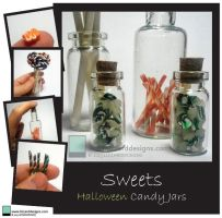 Halloween Sweets by lizzarddesigns