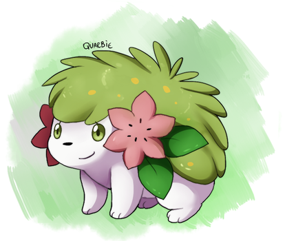 PKMN- Shaymin Land form by Quarbie