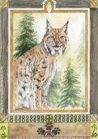 Ilves card by Tuonenkalla