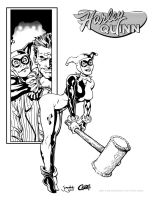Harley Quinn Inked by Cadre