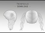 Twintails [ DOWNLOAD ] by Aia-Aria
