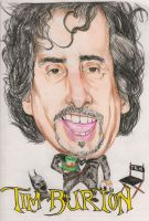 Tim Burton Caricature by egrka