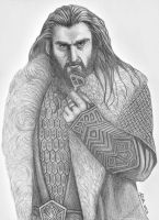 Thorin II- The Rightful King Under the Mountain by badlilmunkee