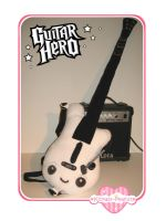 Guitar Hero Plush by kickass-peanut