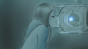 Portal 2: I forgive you by theREDspy