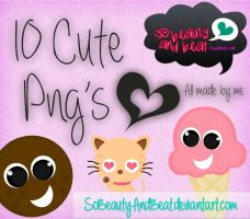 10 Cute Png's by SoBeautyAndBeat