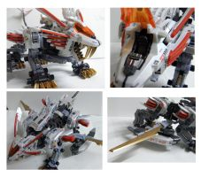 Blade Liger Mirage - Cockpit and Blades by Prometheus023