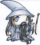 Gandalf Plushie by kuroihana