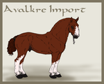 Avalkre Horse Import 8 by ReaWolf
