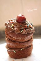 cup cake by Ayesha-ALmarzouqi