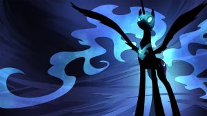 Nightmare Moon Wallpaper by GenjiLim