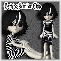 Free Bathing Suit for Chip by PoserMagic