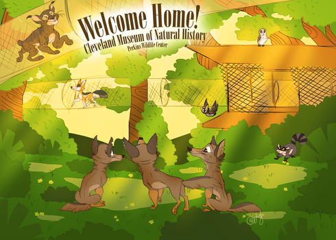 Welcome Home! by Z-Berry