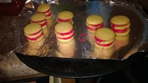 vanilla wafer holiday mini cake(start) by wavrn