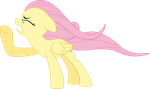 Fluttershy gets blown away by ShurtugalRon