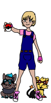 Pokemon Trainer Sandra by Phewmonster