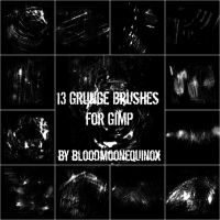 13 Grunge Brushes by BloodMoonEquinox