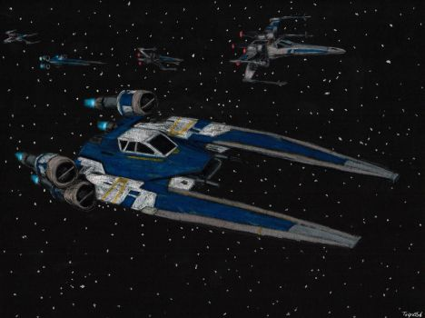 UT-60D U-Wing Transport by Taipu556