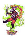 GREEN BAD VOODOO by NecroPuke
