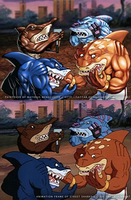 Paintover - Street Sharks - Check out your Fangs! by SaTTaR