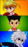 SPECIAL +50 VIEWS !!! HUNTER X HUNTER GREED ISLAND by gaston-gaston