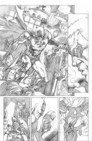 Batman page by Cinar