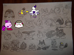 Pokemon Kirby adopts by MetasActReon