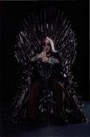 Jaqen on the Throne by nanahara7